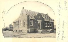 La Harpe, IL Carnegie library