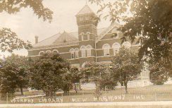 New Harmony Workingmen's Institute Central Library, aka Murphy Library of New Harmony, IN
