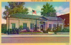 Greenwich, CT public library, now demolished
