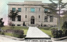 Newton, IA Carnegie library