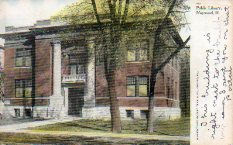 Maywood, IL Carnegie library
