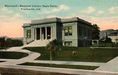 Dean Hoobs Blanchard Librar of Santa Paula, CA