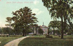 Park, with Lorain, OH Carnegie library