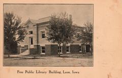 Leon, IA Carnegie library
