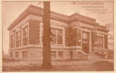 One of Evansville, IN's Carnegie library branches