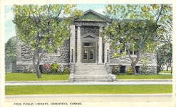 Concordia, KS Carnegie library