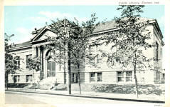 Elwood, IN Carnegie library, now abandoned
