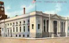 Stockton's (CA) Hazelton Library, now demolished.