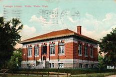 Walla Walla, WA Carnegie library