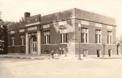 Forest City, IA public library, likely dating to ca. 1920.