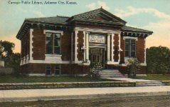 Arkansas City, KS Carnegie library