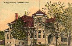 Chanute, KS Carnegie library