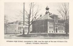 Hillsboro HS, Hillsboro, WI, demolished.