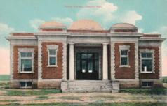 Casper, WY Carnegie library, now demolished.