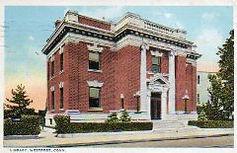 1908 Neo-Classical brick library building, Westport, CT