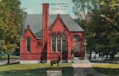 Hall Memorial Library, Tilton, NH
