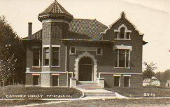Pittsfield, IL Carnegie library