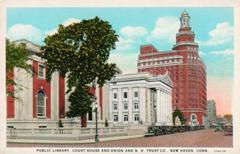 New Haven, CT public library