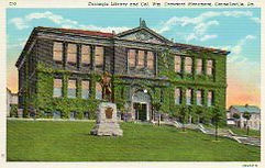 Connellsville, PA Carnegie library