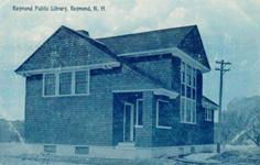 Carnegie building of Raymond, NH's library