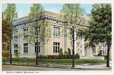 Savannah, GA Carnegie library