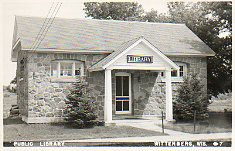 Wittenberg, WI public library