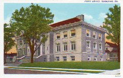 Springfield, MO public library