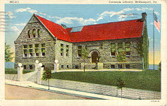 McKeesport, PA Carnegie library