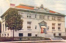 Huntington, IN Carnegie library
