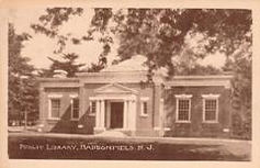 Haddnfield, NJ public library
