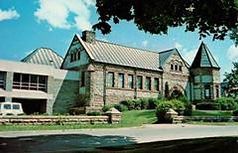 Prendergast Free Library, Jamestown, NY; with modern addition