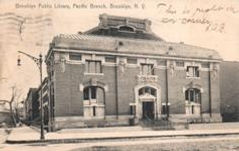 Pacific Carnegie branch library, Brooklyn.