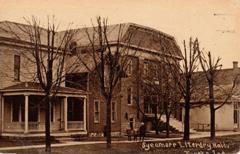 Sycamore Literary Hall, Topeka, IN