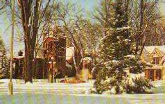 Erwin Library, Boonville, NY winter scene