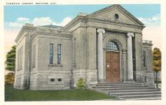 Decatur, Alabama's Carnegie library, still extant.