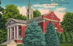 Booth & Dimock Memorial Library, S. Coventry, CT