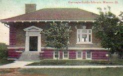 Warren, IL Carnegie library