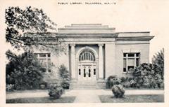 Talladega, Alabama's Carnegie library