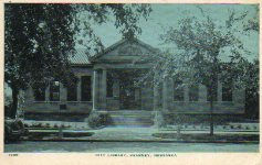 Kearney, Nebraska Carnegie library. Demolished.