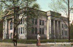 """""""Depauw Carnegie Library"""" in Greencastle, IN"""