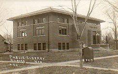 Aurora, NE Carnegie library