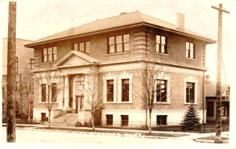Missoula, MT Carnegie library, with 2nd storey addition