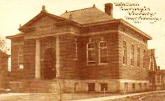 Mitchell-Carnegie library building, Harrisburg, IL