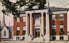 Galt, Ontario Carnegie library