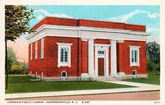 Hendersonville, NC Carnegie library