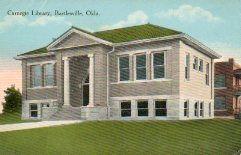 Bartlesville, OK Carnegie library