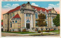 Oil City, PA Carnegie library