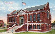 Clarksdale, Mississippi's Carnegie library.