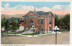 Pocatello, ID Carnegie library