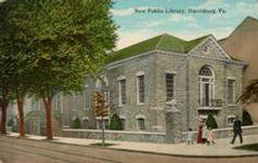 Harrisburg, PA public library